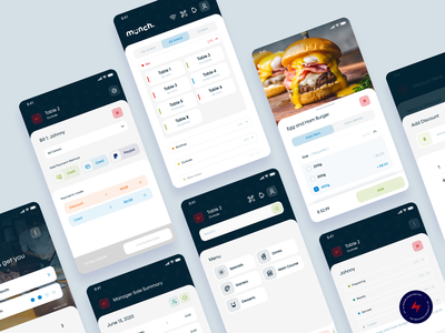 Munch mPoS - 2 app design design ux ui