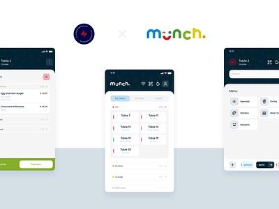 Munch mPoS - 1 app design design ux ui