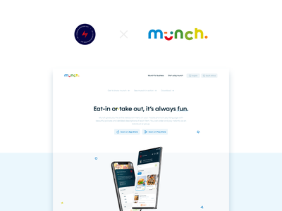 Munch Web - 1 design website web design ux ui