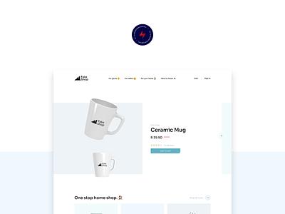 Fake Shop - 1 design website web design ux ui