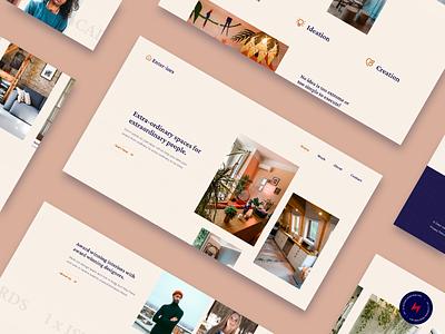 Enter-iors - 2 design website web design ux ui