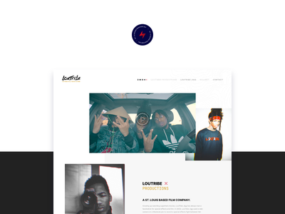 LouTribe - 1 design website web design ux ui