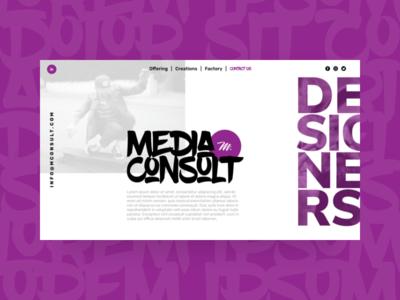 Website Template website web design ui ux