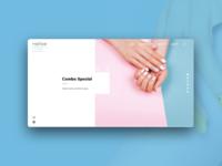 Nailbar  Website Design