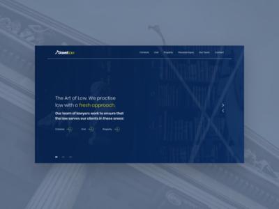 Lawyer Associates Website Template business lawyer law firm website web design ux ui