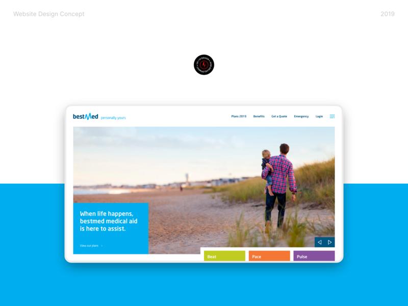 Bestmed Website Concept design website web design ux ui
