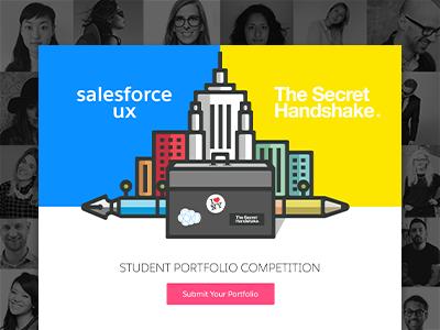 Salesforce UX - Student Portfolio Competition new york ui ux salesforce conference illustration competition student portfolio