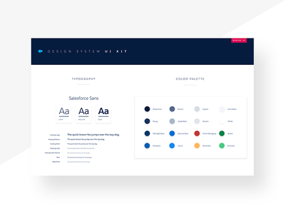 Lightning Design System - Sketch UI Kit clean minimal styleguide system free components material kit ux ui sketch salesforce