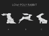 Low-Poly Rabbit