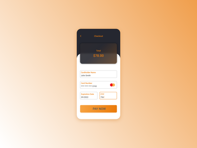 Credit card checkout creditcardcheckout creditcard design ui daily