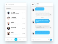 Travel App - Chat screen