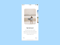 Onboarding Screens - Auto Animation in Adobe XD