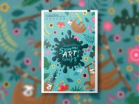 Artist's studio Nursery class Admissions Poster