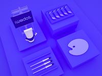 WEDOO ART SPACE | Website design | 3D edition