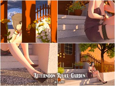 Afternoon, Relax, Garden