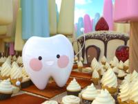 Teeth, Cake, Ice Cream