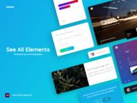 Genius: UI Kit + Free Sample
