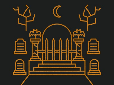 Halloween - 001 graveyard cemetary halloween icon set illustration icons vector design