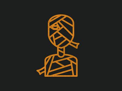 Mummy - Halloween 005 mummy halloween icon set logo illustration icons vector design