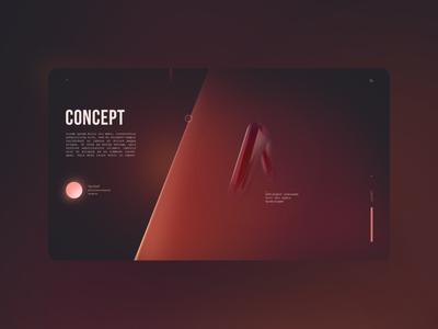 Concept for e-comerce ecommerce landing page ux design web ui
