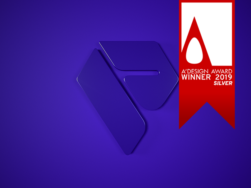Cover render vector winner logo award branding