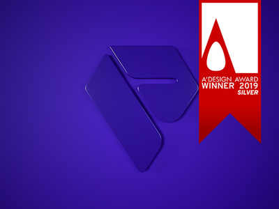 Cover render vector winner logo award branding