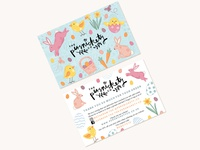 Easter Promotional Card