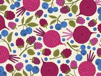 Blueberries, Raspberries & Beetroot