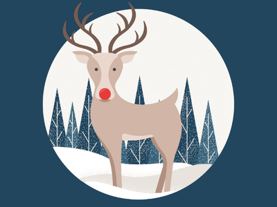 Reindeer graphicdesign graphics illustrator design illustration christmas reindeer