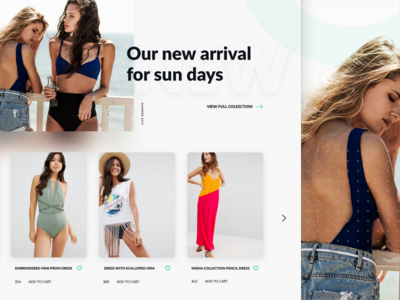 Fashion Ecommerce Product list page