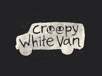 Creepy White Van Logo