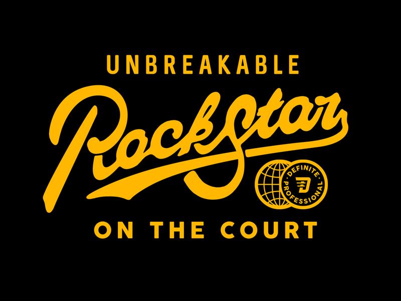 rockstar rockstar court definition vector branding design old type type handdraw logo font mascot