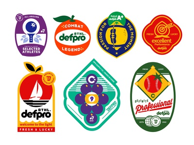 athletic labels type vintage badges pro ads package pools grape pingpong sailing football peach baseball basketball apple fruits labels athletes atheltic