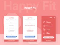 Happyfit app