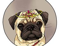 Pug Queen!