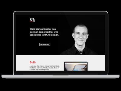 Portfolio Update mockup sketch website portfolio