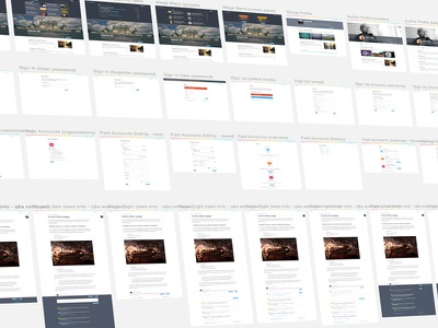 UI Overview pattern overview sketch interface