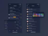 CTemplar Black Theme Mobile App