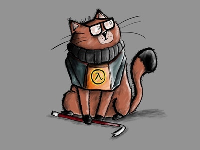Half-Life Gordon Freecat