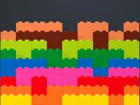 Falling Legos
