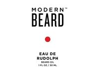 Eau De Rudolph Limited Edition Beard Oil Label