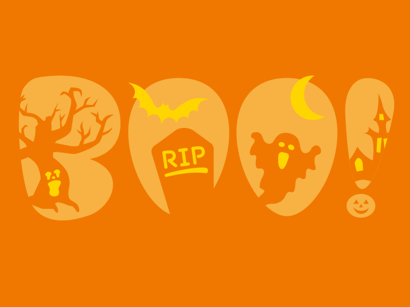 Boo Pumpkin Stencil pumpkin carving spooky bat tree ghost halloween stencil pumpkin