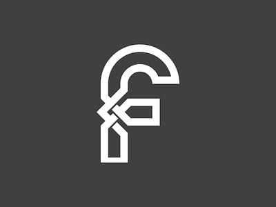 f smart illusion minimalist typography contemporary minimalistic logo design brand identity logo branding