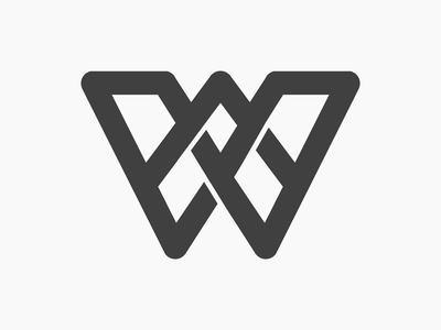 W illustration minimalist typography logo typography contemporary minimalistic logo design brand identity logo branding
