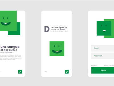 Onboarding Experiment onboarding mobile application user experience user interfae uiux ux ui