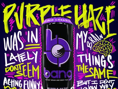 Bang Energy Purple Haze