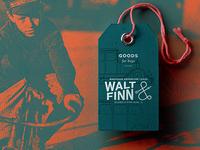 Walt & Finn Hangtag