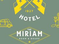 The Miriam Branding Elements