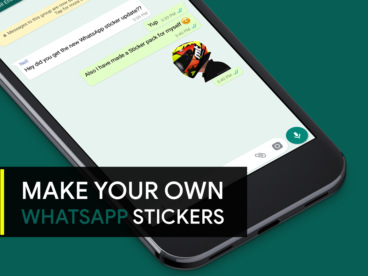Whatsapp custom sticker
