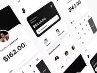 💵 finance money cash dimest card motion animation app ux ui